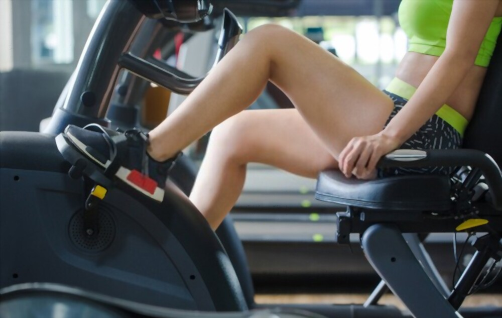 Best exercise bikes with backrest for back pain